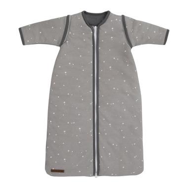 Little Dutch, Śpiworek z odpinanymi rękawkami 90cm Little stars Grey