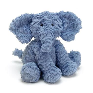 Jellycat, Słoń niebieski 23cm