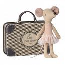 Maileg, Myszka balerina z walizeczką