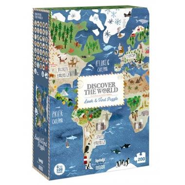 Londji, Puzzle Odkryj świat