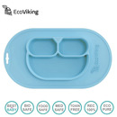 Eco Viking, BLW 4 in 1 Eating Helper Owl Arctic Blue