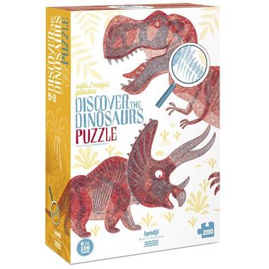 Londji, Puzzle-gra Odkryj Świat Dinozaurów