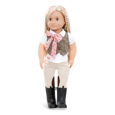 Our Generation, Lalka LEAH – DŻOKEJKA – platynowa blondynka