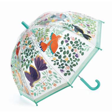 Djeco, Parasol przeciwdeszczowy PTAKI I KWIATY