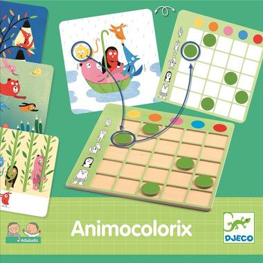 Djeco, EDULUDO Animo Colorix - nauka kolorów