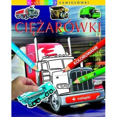 Ciężarówki naklejkowe łamigłówki