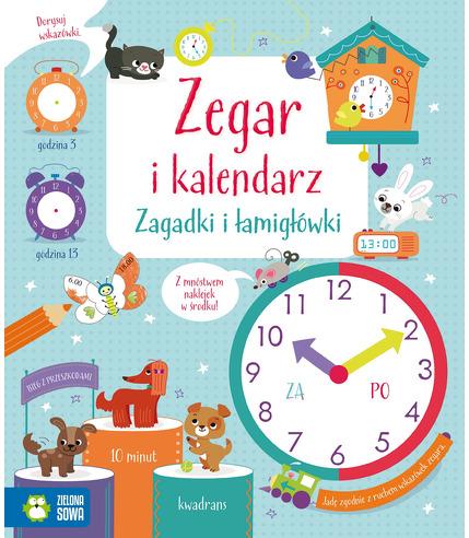 Zegar i kalendarz zagadki i łamigłówki