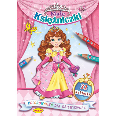Małe księżniczki kolorowanka dla dziewczynek