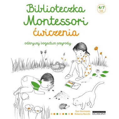 Odkrywaj bogactwo przyrody ćwiczenia biblioteczka montessori