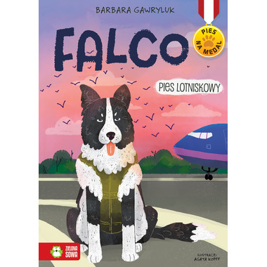 Falco pies lotniskowy pies na medal