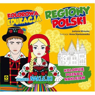Regiony polski kolorowa edukacja