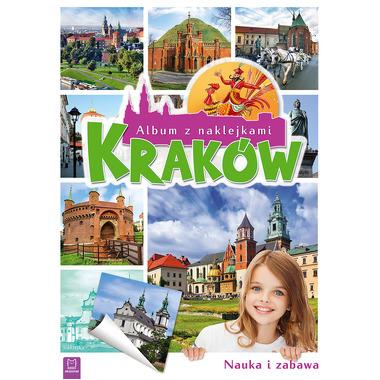 Kraków album z naklejkami