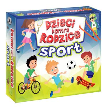 Gra sport dzieci kontra rodzice