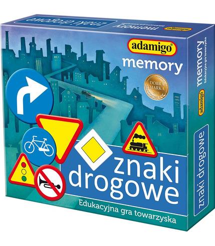Gra memory znaki drogowe