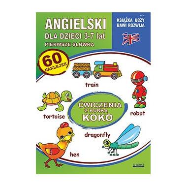 Angielski dla dzieci 3-7 lat ćwiczenia z kurką koko wyd. 3