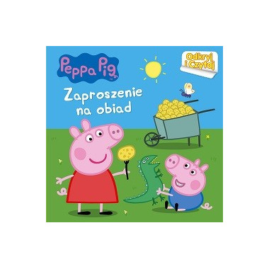 Zaproszenie na obiad świnka peppa odkryj i czytaj