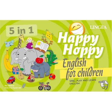 Gra happy hoppy gry 5 in 1