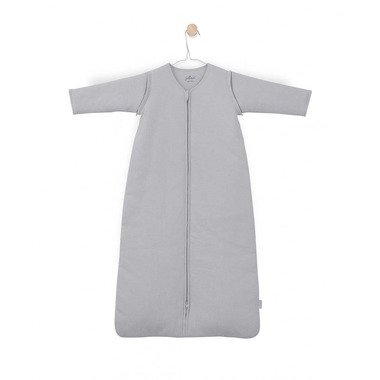 Jollein, Śpiworek całoroczny z odpinanymi rękawkami 70 cm Tiny waffle soft grey