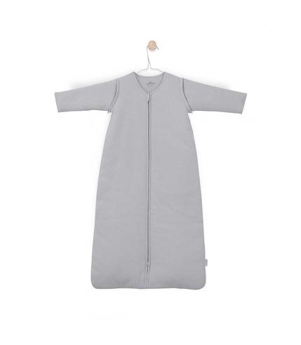 Jollein,  Śpiworek całoroczny z odpinanymi rękawami 90 cm Tiny waffle soft grey