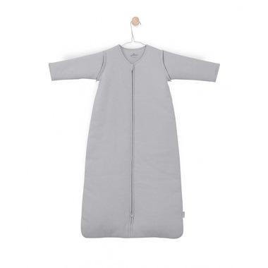 Jollein, Śpiworek całoroczny z odpinanymi rękawkami 110 cm Tiny waffle soft grey