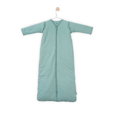 Jollein, Śpiworek całoroczny z odpinanymi rękawkami 110 cm Tiny waffle soft green
