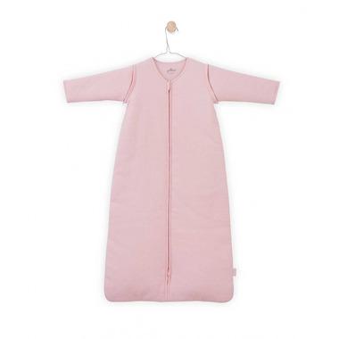 Jollein, Śpiworek całoroczny z odpinanymi rękawkami 110 cm Tiny waffle soft pink