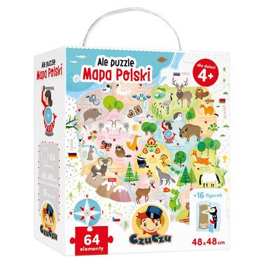 Ale puzzle mapa polski Czuczu