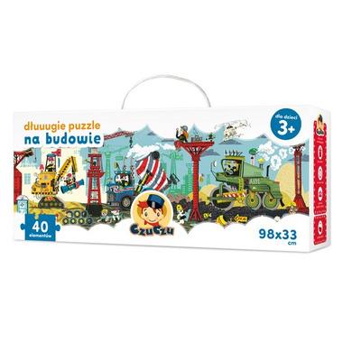 Puzzle 40 na budowie długie puzzle Czuczu
