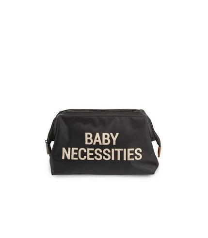 Childhome, Kosmetyczka Baby Necessities czarno-złota