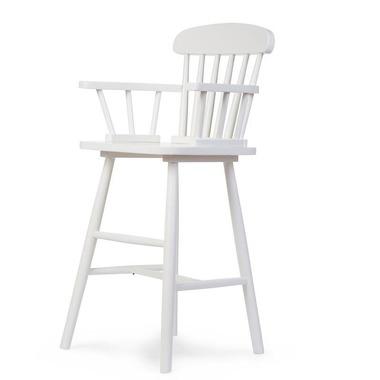 Childhome, Wysokie krzesełko Atlas białe