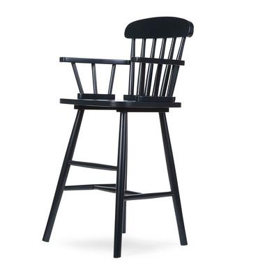 Childhome, Wysokie krzesełko Atlas czarne