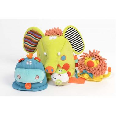 Dolce, Safari 4w1 zabawka sensoryczna