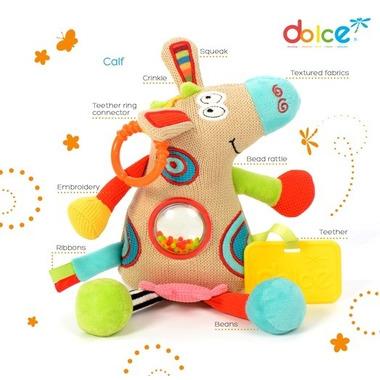 Dolce, Mały Cielaczek zabawka sensoryczna