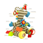 Dolce, Aktywizująca Zebra zabawka sensoryczna