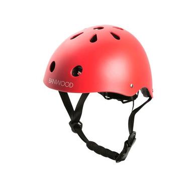 Banwood, dziecięcy kask rowerowy red