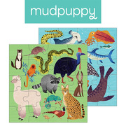 Mudpuppy, Puzzle magnetyczne Zwierzęta lądowe i wodne 4+