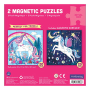 Mudpuppy, Puzzle magnetyczne Magiczne jednorożce 4+