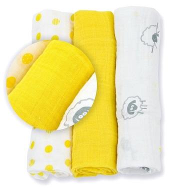 Mini Pieluszki Sunshine Yellow Lulujo