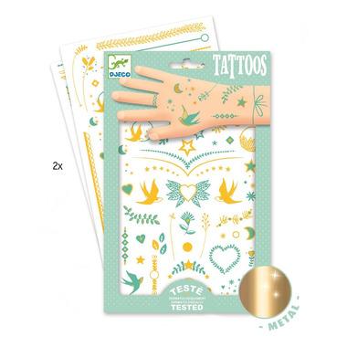Djeco, Tatuaże metaliczne Klejnoty Lily
