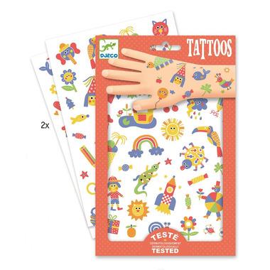 Djeco, Tatuaże Słodziaki