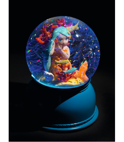 Djeco, Lampka nocna - figurka Syrenka