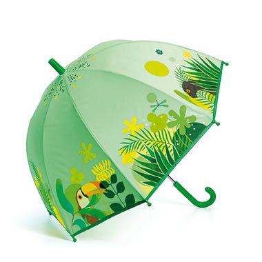 Djeco, Parasol przeciwdeszczowy Tropikalna Dżungla