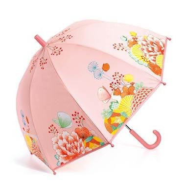 Djeco, Parasol przeciwdeszczowy Kwiatowy Ogród