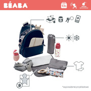 Beaba, Plecak dla mamy San Francisco blue/snake