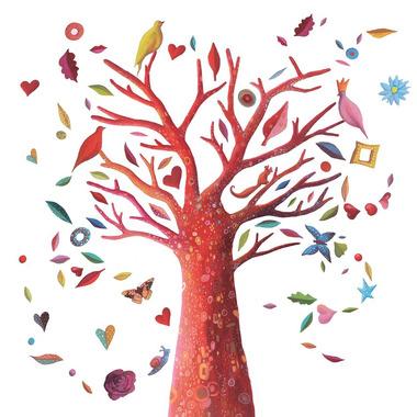Djeco, naklejki ścienne drzewo