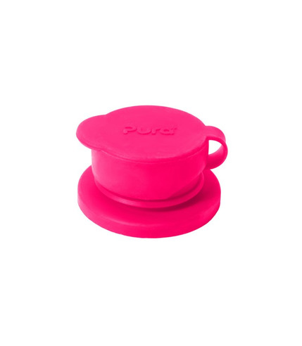 Pura,Ustnik Sport do butelek Pura Kiki, różowy