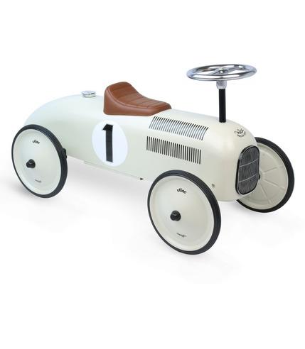 Jeździk White Metal car Vilac
