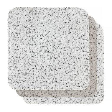 Bebe-Jou, Otulacze bambusowo-muślinowe 70 x 70 cm (3 szt.) Fabulous Dots