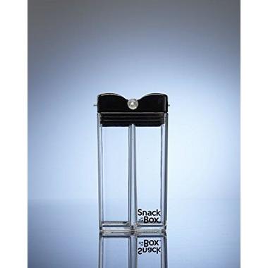 Drink In The Box, SNACK IN THE BOX Unique Pojemnik na przekąski black clear