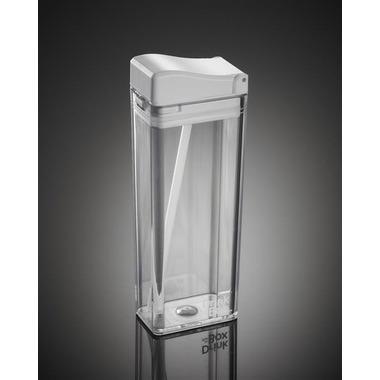 Drink In The Box, Unique Bidon ze słomką white clear 350ml